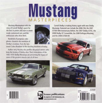 Mustang Masterpieces: Featuring the Cars of Carroll Shelby