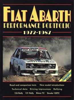 Fiat Abarth Performance Portfolio 1972 - 1987