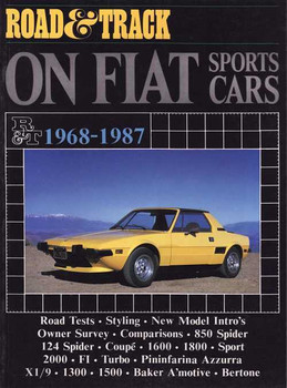 Road & Track On Fiat Sports Cars 1968 - 1987