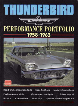 Ford Thunderbird Performance Portfolio 1958 - 1963