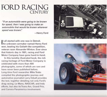 Ford Racing Century: A Photographic History of Ford Motorsports