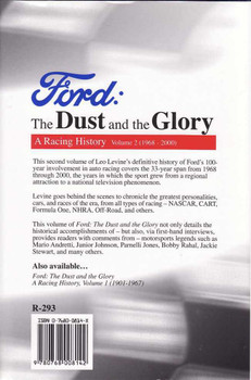 Ford The Dust and the Glory: A Racing History Volume 2 (1968 - 2000)