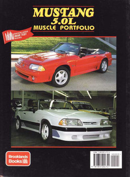 Mustang 5.0L Muscle Portfolio 1982 - 1993