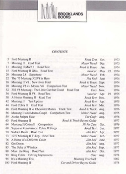 High Performance Mustang IIs 1974 - 1978