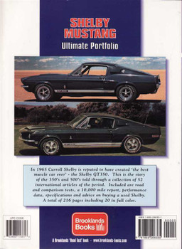 Shelby Mustang Ultimate Portfolio 1965 - 1970