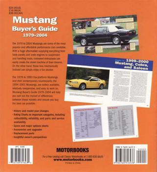 Mustang Buyer's Guide 1979 - 2004