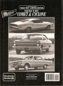 Ford Mercury, Comet & Cyclone 1960 - 1970