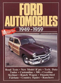 Ford Automobiles 1949 - 1959