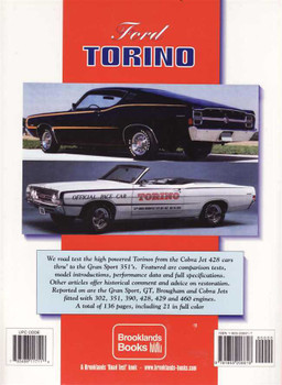 Ford Torino Performance Portfolio 1968 - 1974