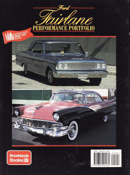 Ford Fairlane Performance Portfolio 1955 - 1970