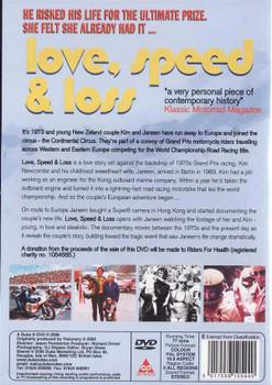 Love, Speed & Loss DVD