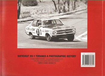 Bathurst XU-1 Toranas: A Photographic History (Soft Cover Book)