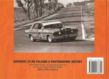 Bathurst GT - HO Falcon: A Photographic History (Hard Cover Book)