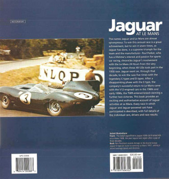 Jaguar At Le Mans: Every Race, Car and Driver 1950 - 1995