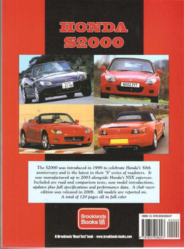 Honda S200: Performance Portfolio 1999 - 2008