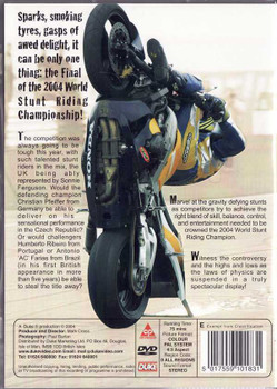 World Stunt Riding Final 04 DVD