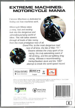 Extreme Machines: Motorcycle Mania DVD