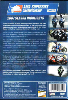 AMA Superbike Championship 2007 Season Highlights DVD