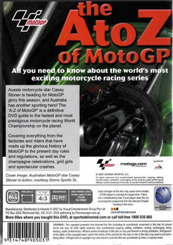 The A To Z of MotoGP DVD