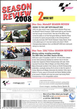MotoGP: Season Review 2008 (2 DVD Set)