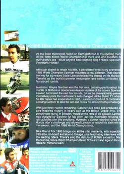 Bike Grand Prix 1986: World Championship DVD