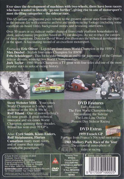 Champion Sidecar: Kings of 3 Wheels DVD