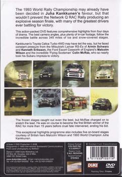 RAC Rally 1993: World Rally Championship DVD