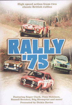 Rally 1975: High Speed Action From Two Classic British Rallies DVD