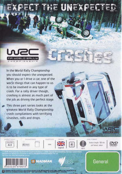 FIA World Rally Championship: Crashes DVD