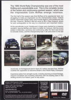 World Rally Championship 1995 DVD