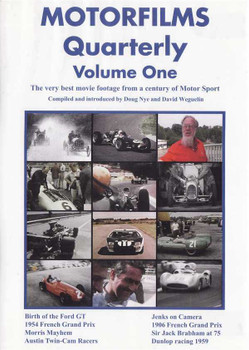 Motorfilms Quarterly Volume One DVD