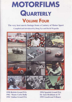 Motorfilms Quarterly Volume Four DVD