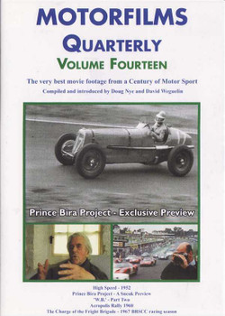 Motorfilms Quarterly Volume Fourteen DVD