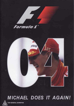 Formula One 2004: Michal Does It Again! DVD