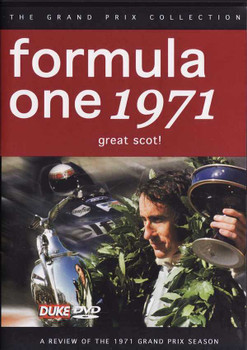 Formula One 1971: Great Scot! DVD
