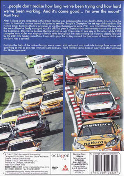 BTCC: The 2005 Dunlop MSA British Touring Car Championship DVD