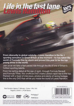 Lewis Hamilton: Life In The Fast Lane DVD