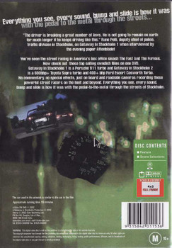 Getaway In Stockholm DVD