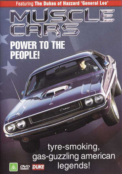 Muscle Cars: Power To The People! DVD