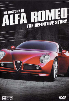 The History of Alfa Romeo: The Definitive Story DVD