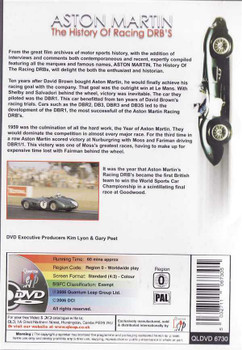 Aston Martin: The History of Racing DRB's DVD