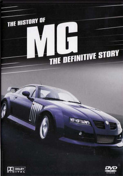 The History of MG: The Definitive Story DVD