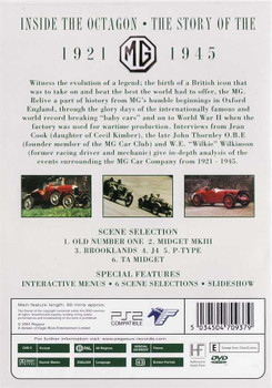 Inside The Octagon: The Story of The MG 1921 - 1945 DVD