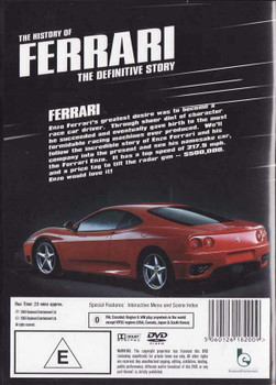 The History of Ferrari: The Definitive Story DVD