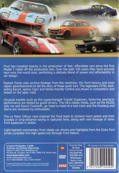 Fastest Fords: A Century of Speed DVD