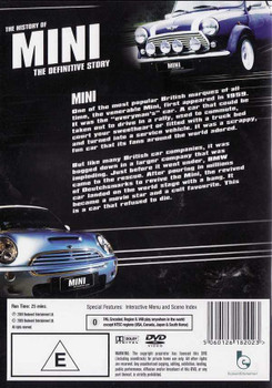 The History of Mini: The Definitive Story DVD