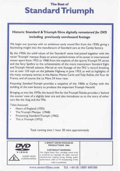 The Best of Standard Triumph DVD