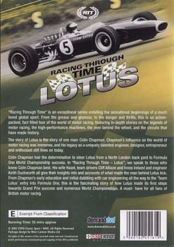 Racing Through Time: Lotus DVD