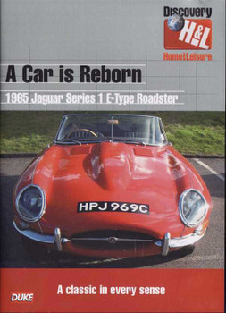 A Car Is Reborn: 1965 Jaguar Series 1 E - Type Roadster DVD