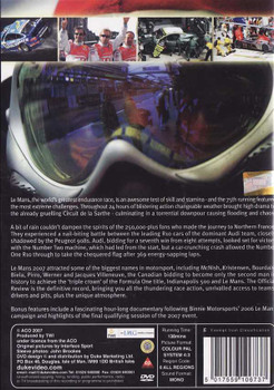 Le Mans 2007: The Official Review of The World's Greatest Endurance Race DVD
